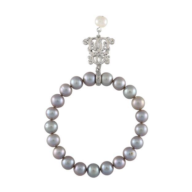 B-BP-19 9MM Grey Round Freshwater Pearl RM127