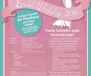 EH! & Cosmopolitan Bridal Workshop 2016