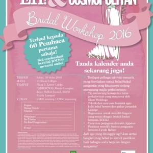 EH! & Cosmopolitan Bridal Workshop 2016