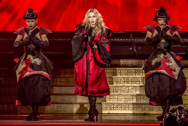 Oct. 1, 2015 - Detroit, Michigan, U.S - MADONNA performing on her Rebel Heart Tour at Joe Louis Arena in Detroit, MI on October 1st 2015 (Credit Image: © Marc Nader via ZUMA Wire)