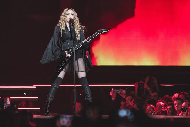 Dec. 9, 2015 - Paris Bercy, France - Madonna (Credit Image: © Panoramic via ZUMA Press)