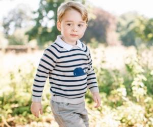 Gambar Sambutan Ulang Tahun Ke-3 Putera George