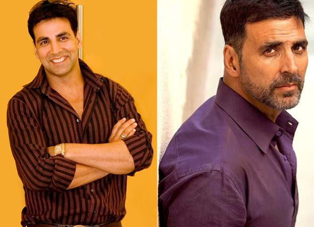 akshay kumar then and now