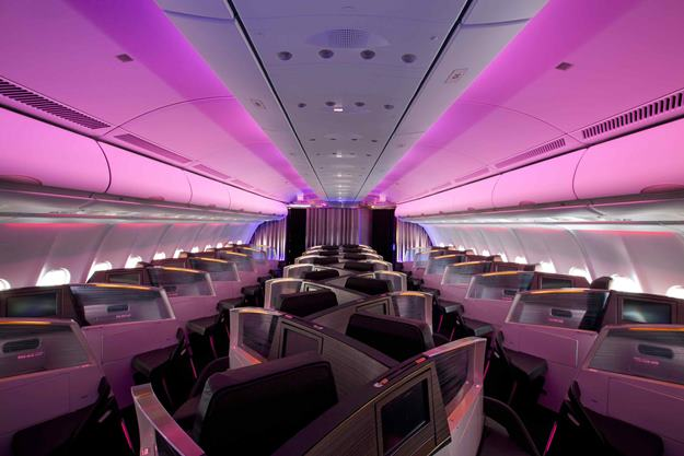 Virgin Atlantic reveals it's new Upper Class cabin with the longest business class bed in the sky