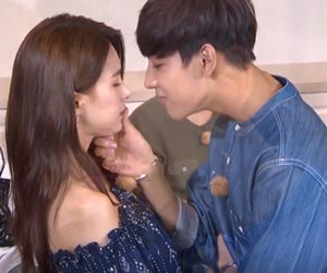 BamBam GOT7 Lakonkan Babak Ciuman Drama Uncontrollably Fond Bersama Jei FIESTAR