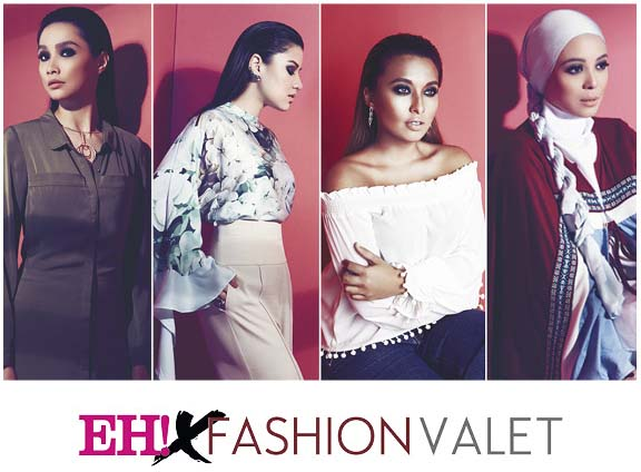 Dapatkan koleksi EH! x Fashionvalet!