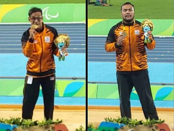 EH! Paralimpik Emas Rio