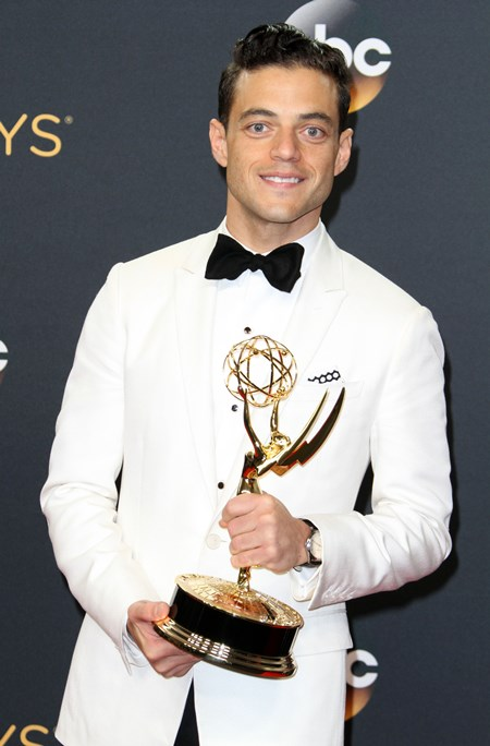 68th Emmy Awards Press Room 2016 held at the Microsoft Theater Featuring: Rami Malek Where: Los Angeles, California, United States When: 19 Sep 2016 Credit: Adriana M. Barraza/WENN.com