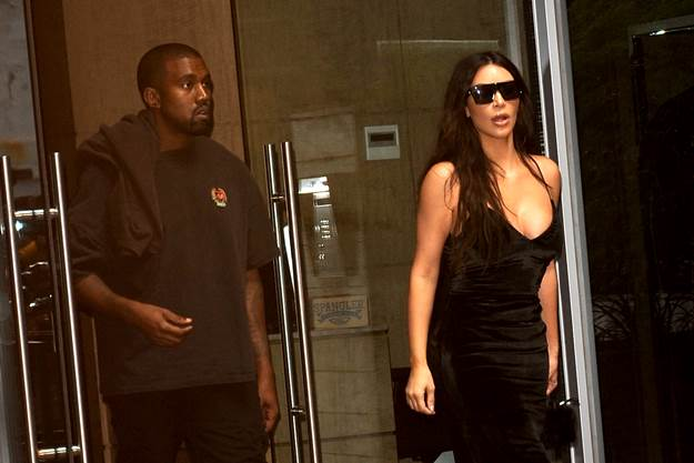 .September 14, 2016 New York City..Kanye West and Kim Kardashian leave their apartment on September 14, 2016 in New York City...Credit: Kristin Callahan/ACE Pictures...Tel:Email: ... Photo via Newscom