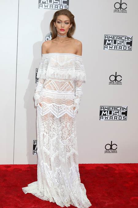 LOS ANGELES - NOV 20: Gigi Hadid at the 2016 American Music Awards at Microsoft Theater on November 20, 2016 in Los Angeles, CA *** Please Use Credit from Credit Field ***
