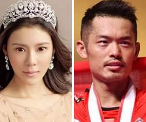 Lin Dan Jalan Hubungan Sulit Dengan Seorang Model Ketika Isteri Sarat Hamil