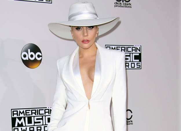 Mandatory Credit: Photo by Matt Baron/BEI/Shutterstock (7449787ev) Lady Gaga American Music Awards, Arrivals, Los Angeles, USA - 20 Nov 2016