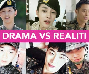 Descendents Of The Sun- Fantasi & Realiti Tentera Korea