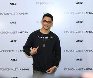 FashionValet Bawakan Arez.co Dari Afgan
