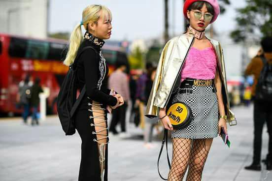 Letupan Gaya Selebriti Korea Vs Orang Korea Di Seoul Fashion Week 2017 Eh
