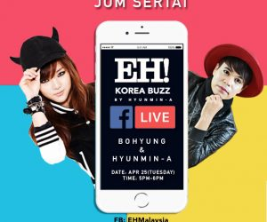 Peluang Bermesra Bersama Bintang K-POP Di FB LIVE