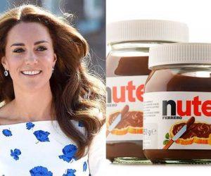 Rahsia Kecantikan Kate Middleton Hanyalah Dari Sebalang Nutella