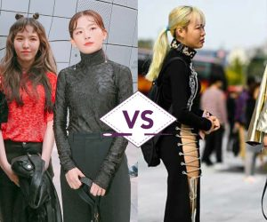 Letupan Gaya Selebriti Korea VS Orang Korea Di Seoul Fashion Week 2017