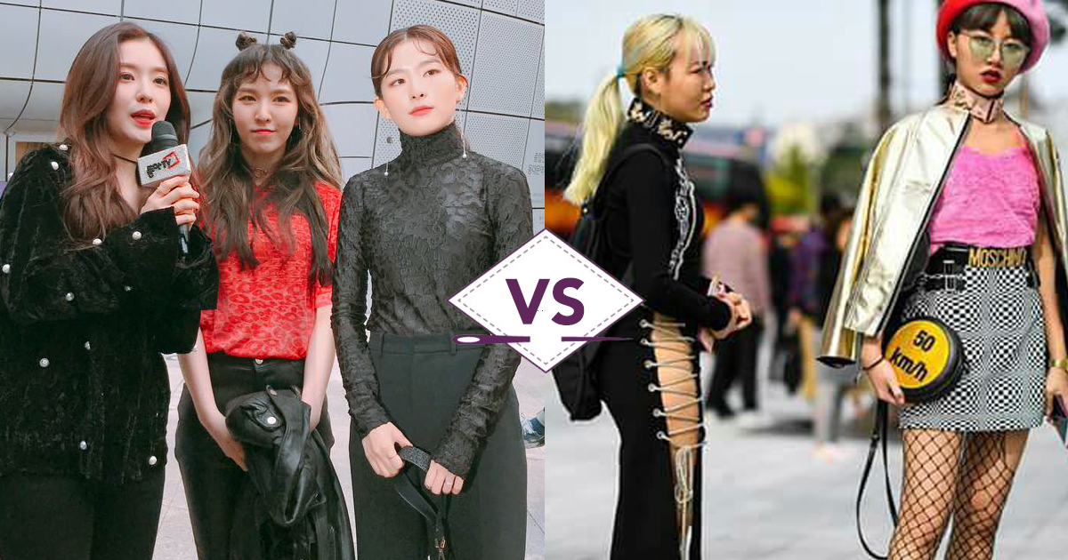 Letupan Gaya Selebriti Korea VS Orang Korea Di Seoul Fashion Week 2017