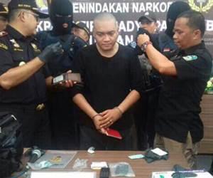 Benjy Ditahan Di Medan Indonesia, Cuba Seludup Dua Paket Syabu