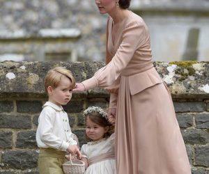 Putera George & Puteri Charlotte Curi Tumpuan Di Majlis Perkahwinan Pippa Middleton