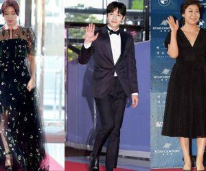 Hitam, Putih & Biru Rona Pilihan Karpet Merah Baeksang Arts Award ke 53 Korea