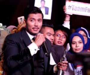 Fattah Amin Dinobatkan Bintang Paling Popular ABPBH3.0