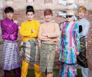 Terpersona Lihat 12 Artis Korea Berbaju Melayu & Berbaju Kurung