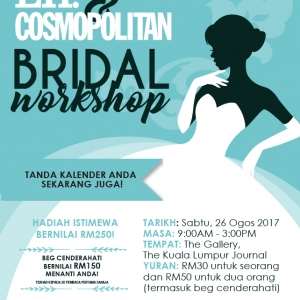 EH! & Cosmopolitan Bridal Workshop 2017