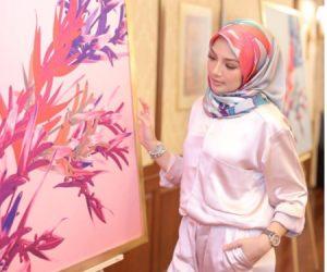 Naelofar Hijab Lancar Koleksi Tudung Empat Segi Bertatahkan Batu Swarovski