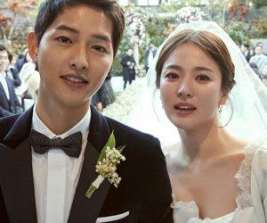 Song Joong-ki Dan Song Hye-kyo Kongsi Gambar Perkahwinan Yang Cukup Indah