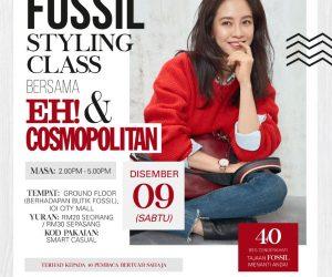 Fossil Styling Class bersama EH! & Cosmopolitan
