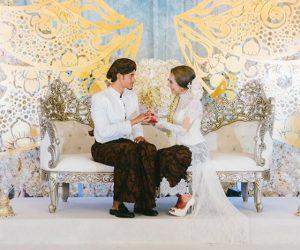 Gambar Di Sekitar Perkahwinan Mawar Rashid Dan Raf Yaakob