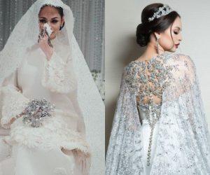 Busana Perkahwinan Izara Aishah Menarik Perhatian Ramai