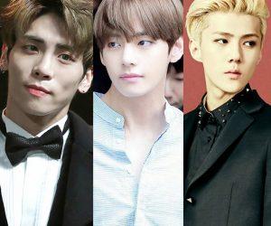 16 Artis Korea Termasuk Jonghyun SHINEE Tercalon, V BTS Lelaki Terkacak Dunia 2017