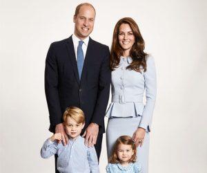 Kad Krismas 2017 Dari Putera William Dan Kate Middleton Dikongsikan