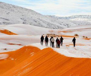 Lagu Nyanyian Anggun, Snow In Sahara Jadi Realiti
