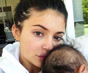 Aksi Comel Stormi, Anak Pertama Kylie Jenner Sewaktu Tidur Cetus Keterujaan Ramai