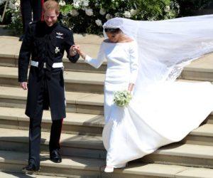 Gambar Gaun Perkahwinan Diraja Meghan Markle Dari Setiap Sudut