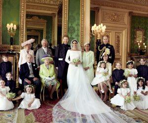 Gambar Rasmi Perkahwinan Diraja Putera Harry Dan Meghan Markle