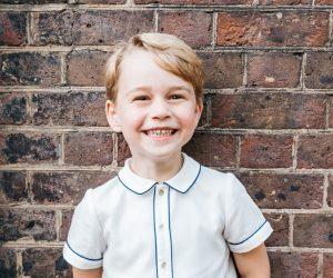 Putera George Genap Lima Tahun, Istana Kensington Kongsi Gambar Rasmi