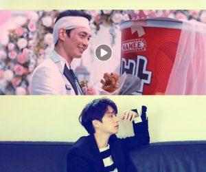 Comelnya Iklan Mamee Daebak Di Korea Bikin Model Iklan & Hee Chul Super Junior Terpesona!!