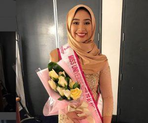 Gadis Melayu Berhijab Pertama Berjaya Menduduki Tempat Ke-5 Dalam Miss Universe New Zealand 2018