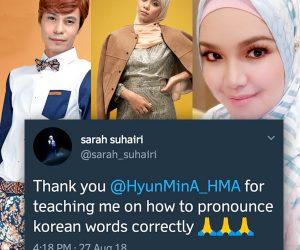 Berguru Dengan Hyunmin-A, DduDuDduDu Sarah Suhairi Dipuji & Fans Tak Setuju Komen Siti