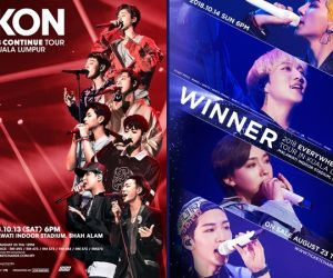 Hujung Minggu Bersama iKON & WINNER di Malaysia