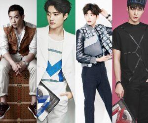 Siapakah Raja MCM: Rain Atau EXO? Ini Rekaan Vazz Pilihan 20 Selebriti Korea