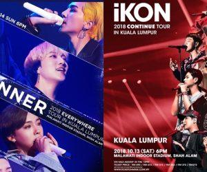 Perkhidmatan Bas Disediakan Untuk Peminat iKON & WINNER Hujung Minggu Ini!