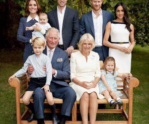 Foto Candid Comel Keluarga Kerabat Diraja British