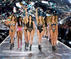 Himpunan Gambar Model Di Victoria's Secret Fashion Show 2018