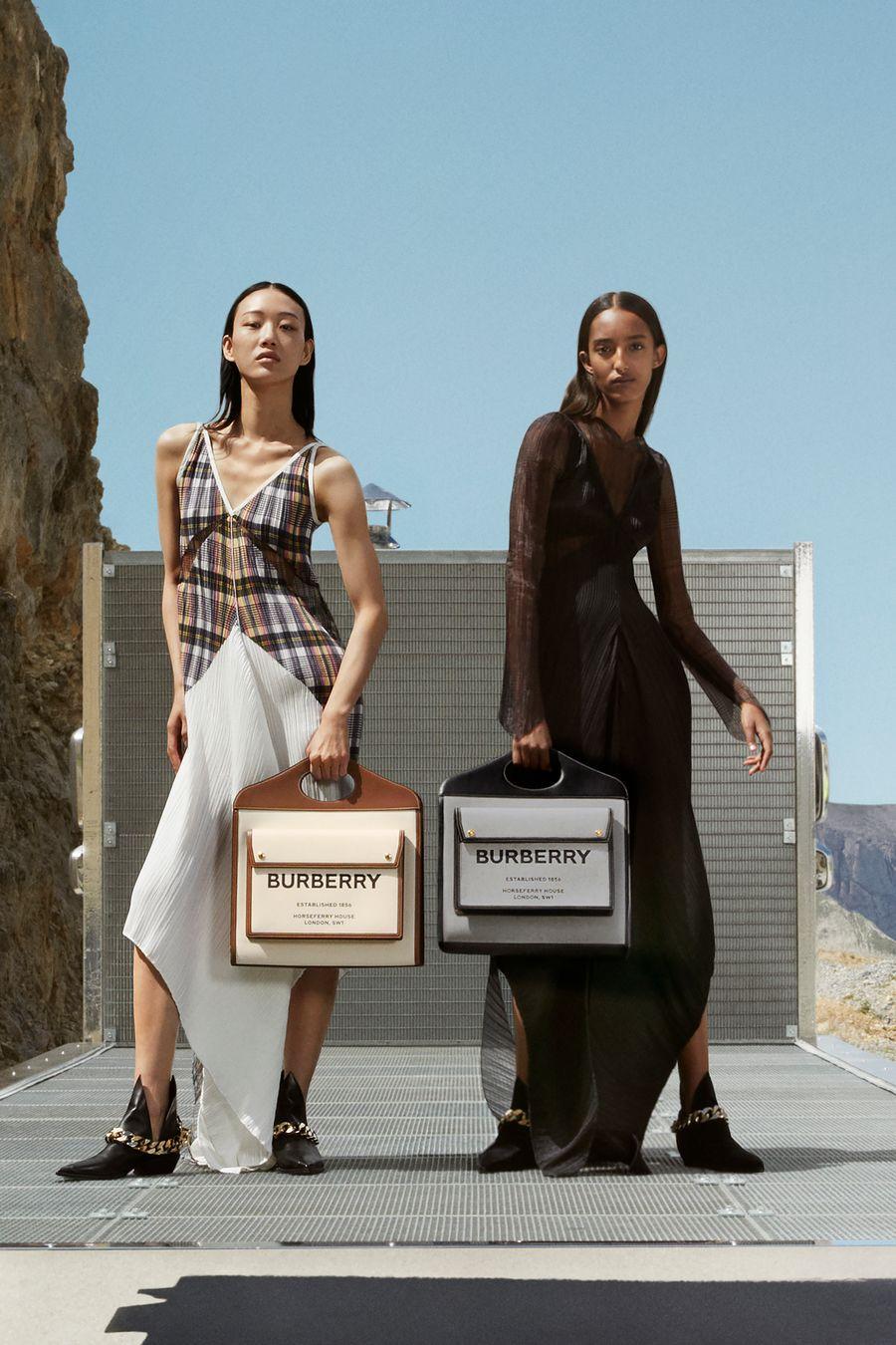 Burberry fall 2020 kempen fesyen baharu